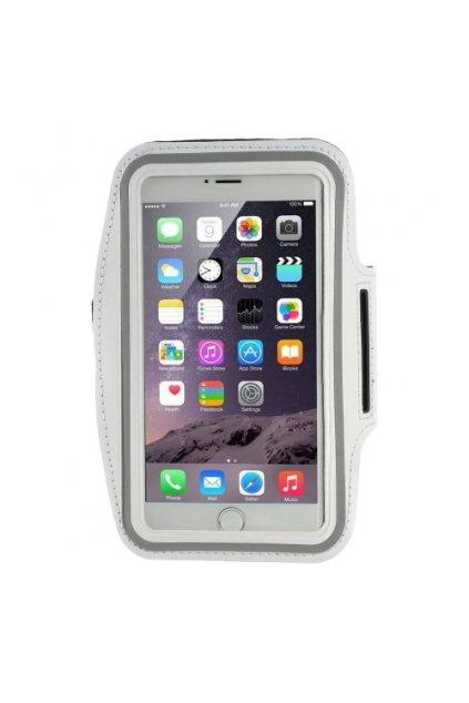 Sportovní pouzdro na ruku pro iPhone 6/6S Plus, white