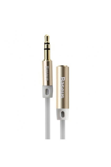 AUX kabel 3.5mm Baseus 150cm, gold
