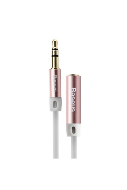 AUX kabel 3.5mm Baseus 150cm, rose gold