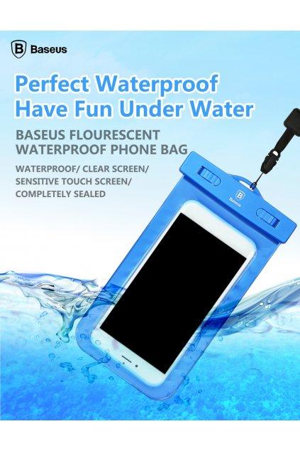 Voděodolné pouzdro Baseus Apple iPhone, blue