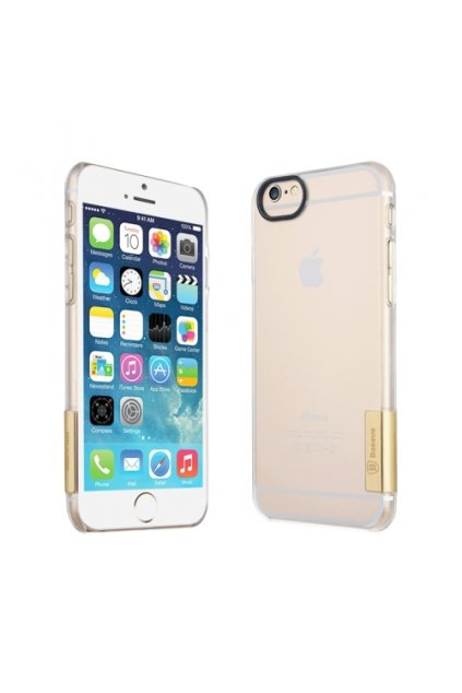 Ultra tenké Baseus pouzdro Apple iPhone 6/6S, gold/zlatá