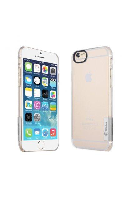 Ultra tenké Baseus pouzdro Apple iPhone 6/6S, silver/stříbrná