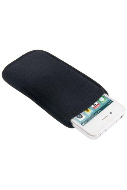 Voděodolné textilní pouzdro iPhone 4/4S, black