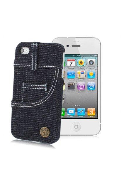 Pouzdro Jeans iPhone 4/4S, black/černá