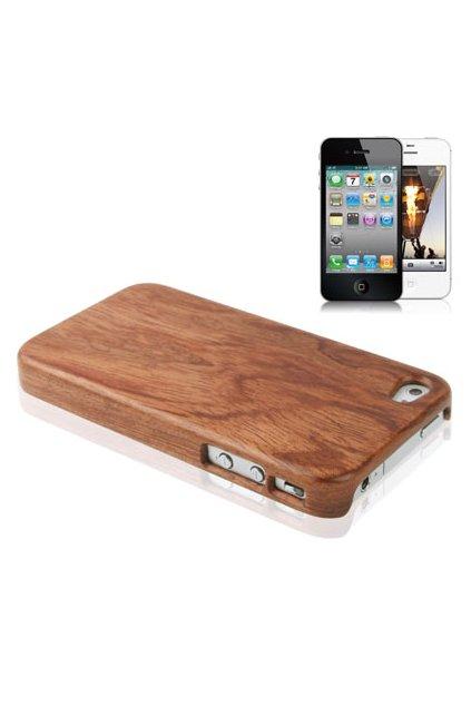 Pouzdro Wood iPhone 4/4S, dřevěné