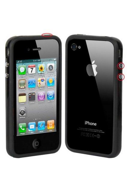 Pouzdro Bumper iPhone 4/4S, black