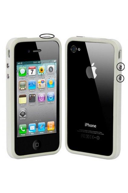 Pouzdro Bumper iPhone 4/4S, white