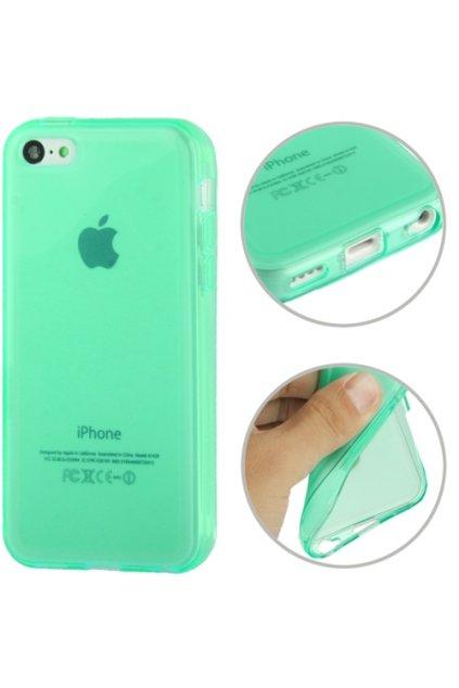 Pouzdro matné TPU iPhone 5C, blue/modrá
