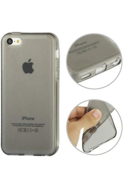 Pouzdro matné TPU iPhone 5C, grey/šedé