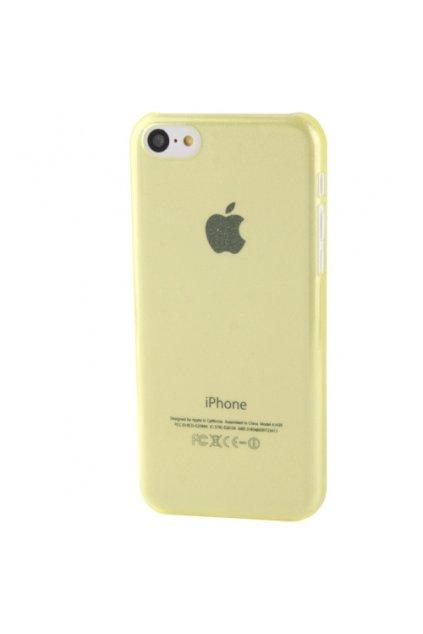 Pouzdro Powder plastové iPhone 5C, yellow/žlutá