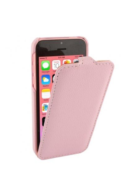 Pouzdro flip Melkco iPhone 5C, pink/růžová