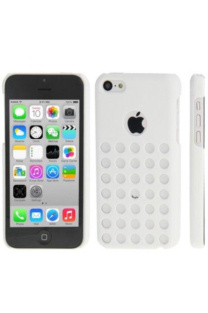 Pouzdro Dot plastové iPhone 5C, white/bílá