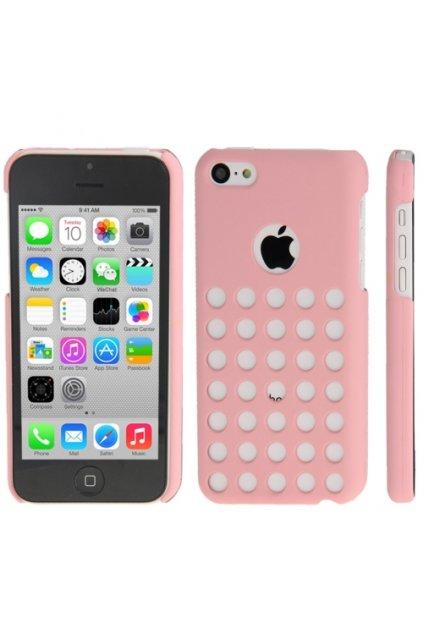 Pouzdro Dot plastové iPhone 5C, pink/růžová