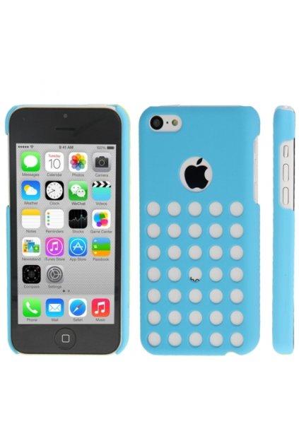 Pouzdro Dot plastové iPhone 5C, blue/modrá