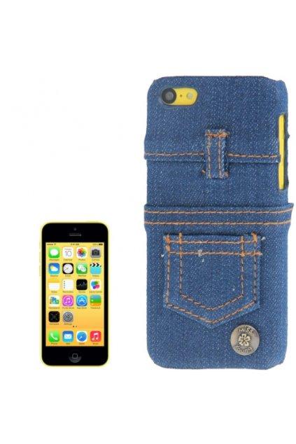 Pouzdro Jeans iPhone 5C, blue/modrá