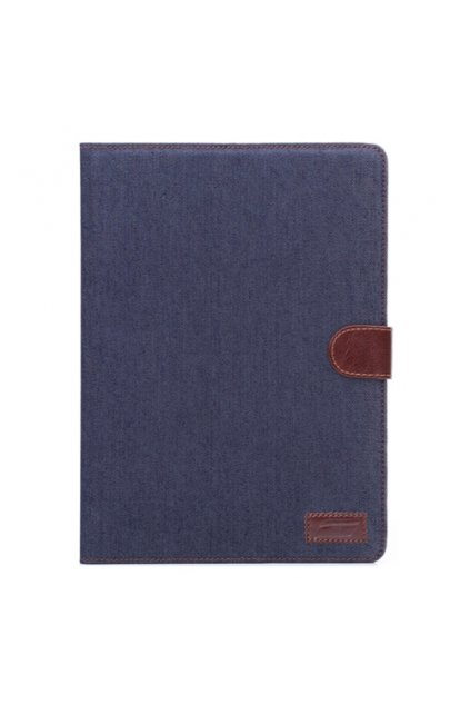 Pouzdro Denim Leather iPad Air 2, blue/tmavě modrá