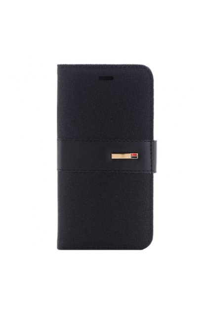 Apple iPhone 6/6S pouzdro flip DENIM, Black