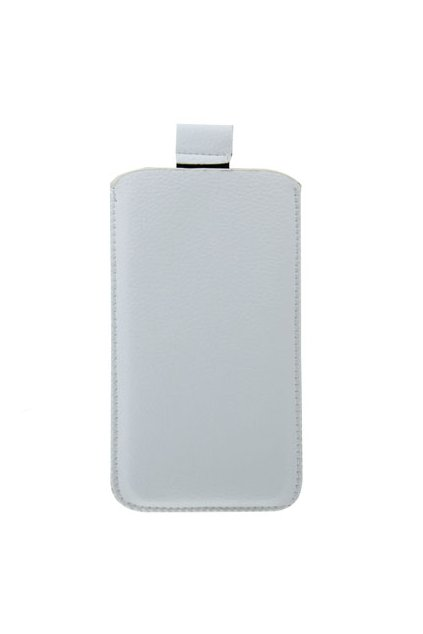 Koženkové pouzdro Pocket Apple iPhone 5/5S, White