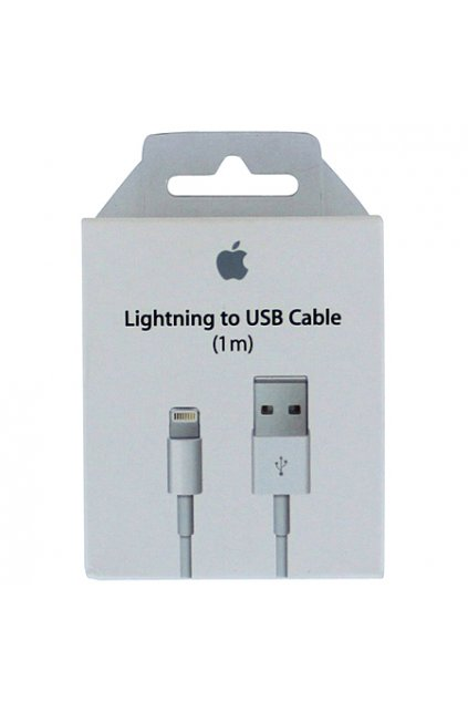 Apple USB Lightning kabel (1m) , originál  MD818ZM/A