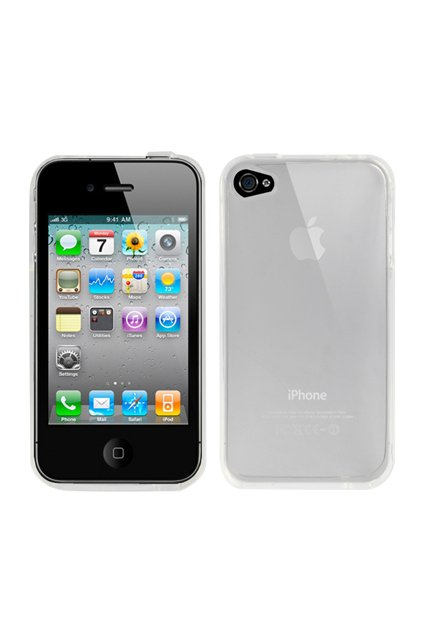 Pouzdro Apple iPhone 4/4S TPU, transparent