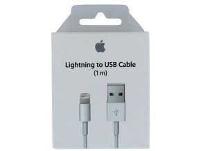 Apple USB Lightning kabel (1m) , originál MD818ZM/A
