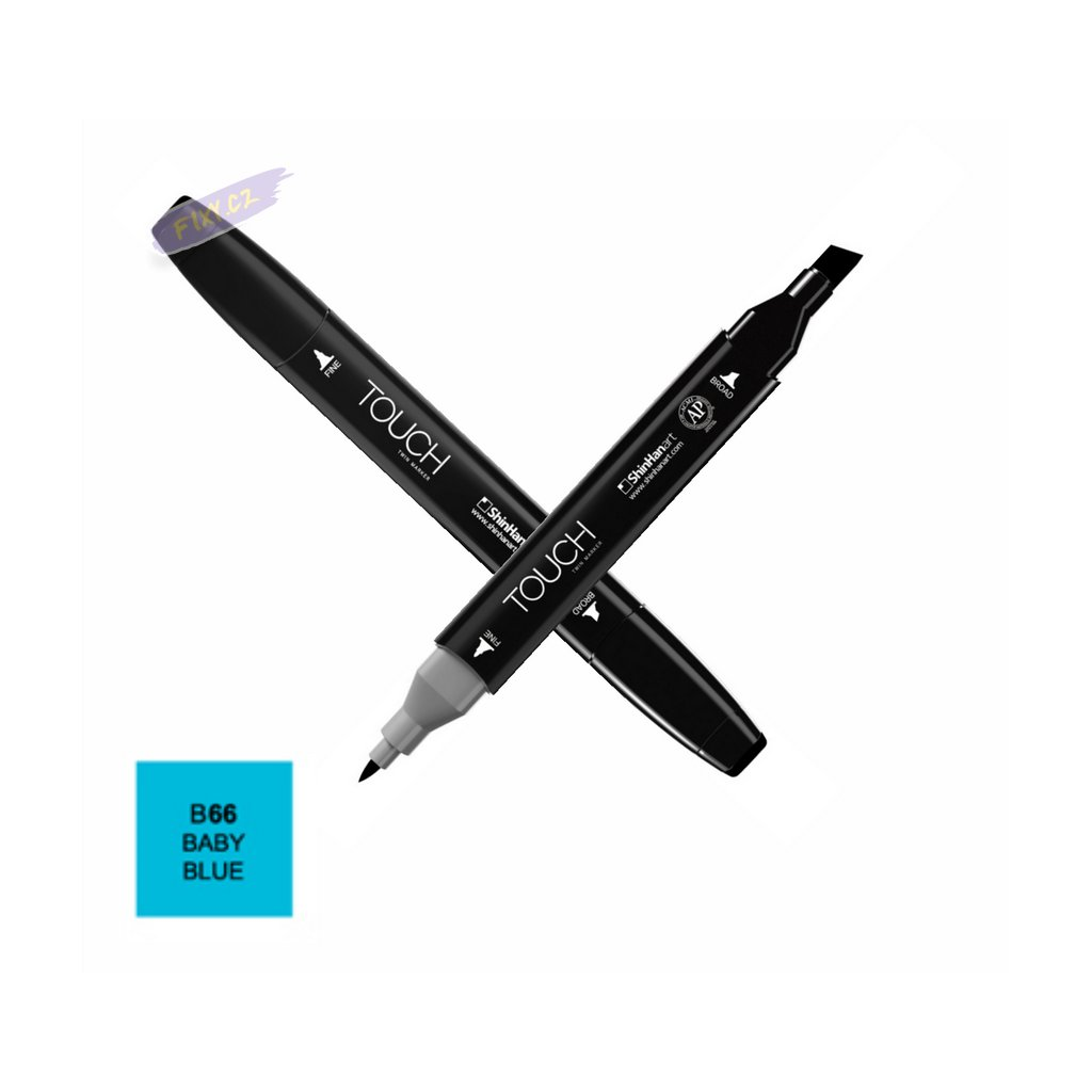 1482 1 b66 baby blue touch twin marker