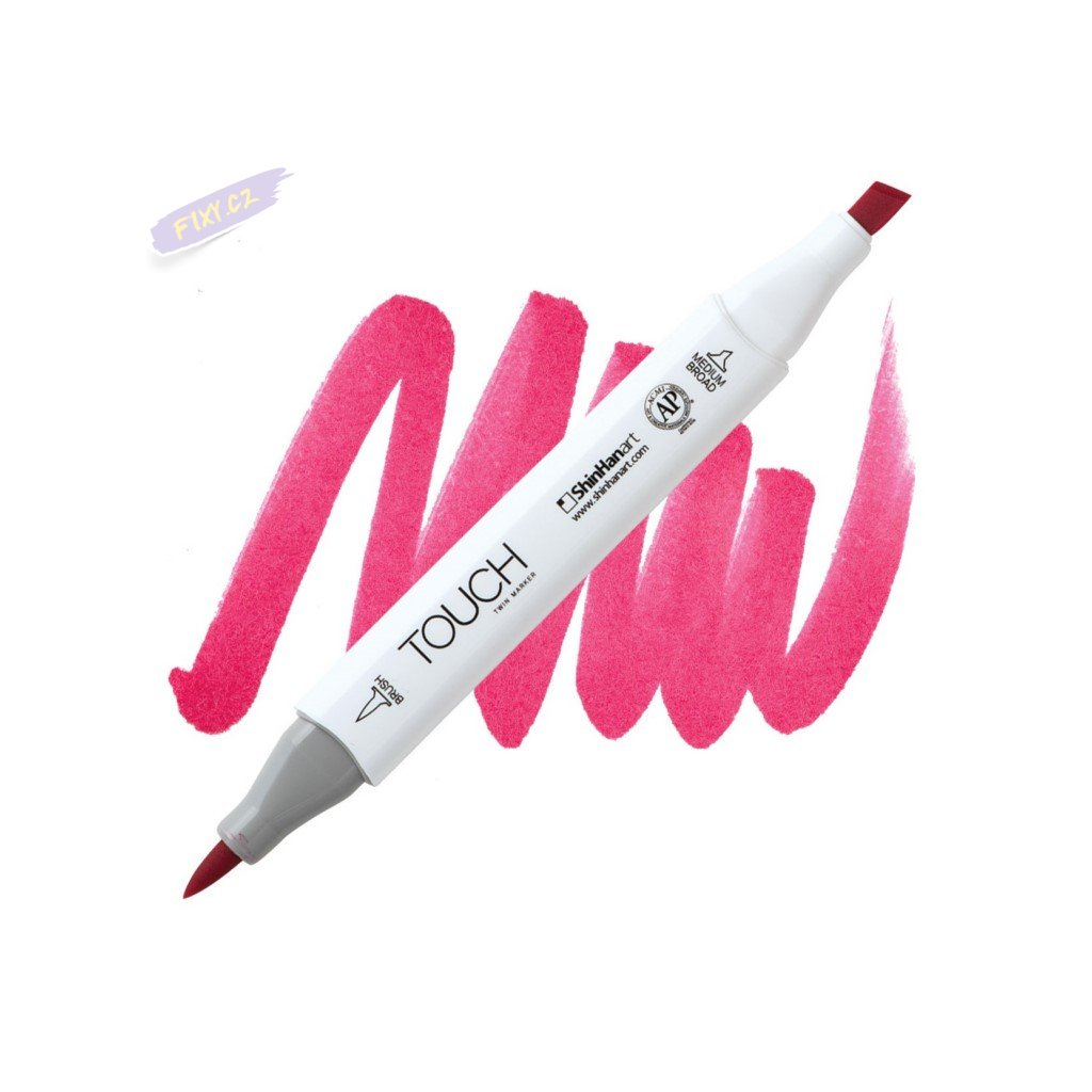 1929 2 r5 cherry pink touch twin brush marker