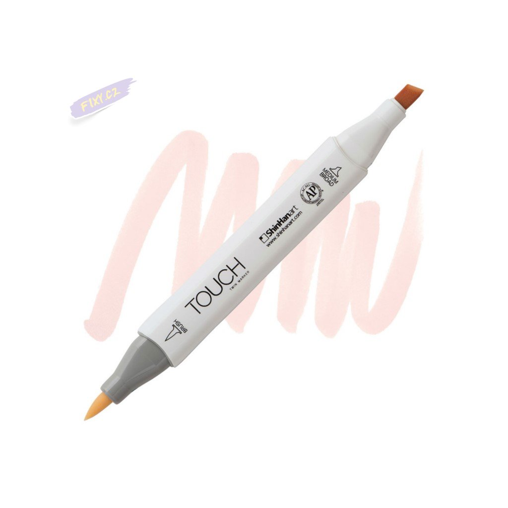 1989 2 yr27 powder pink touch twin brush marker