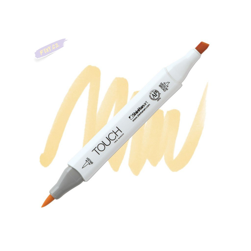 2013 2 y36 cream touch twin brush marker