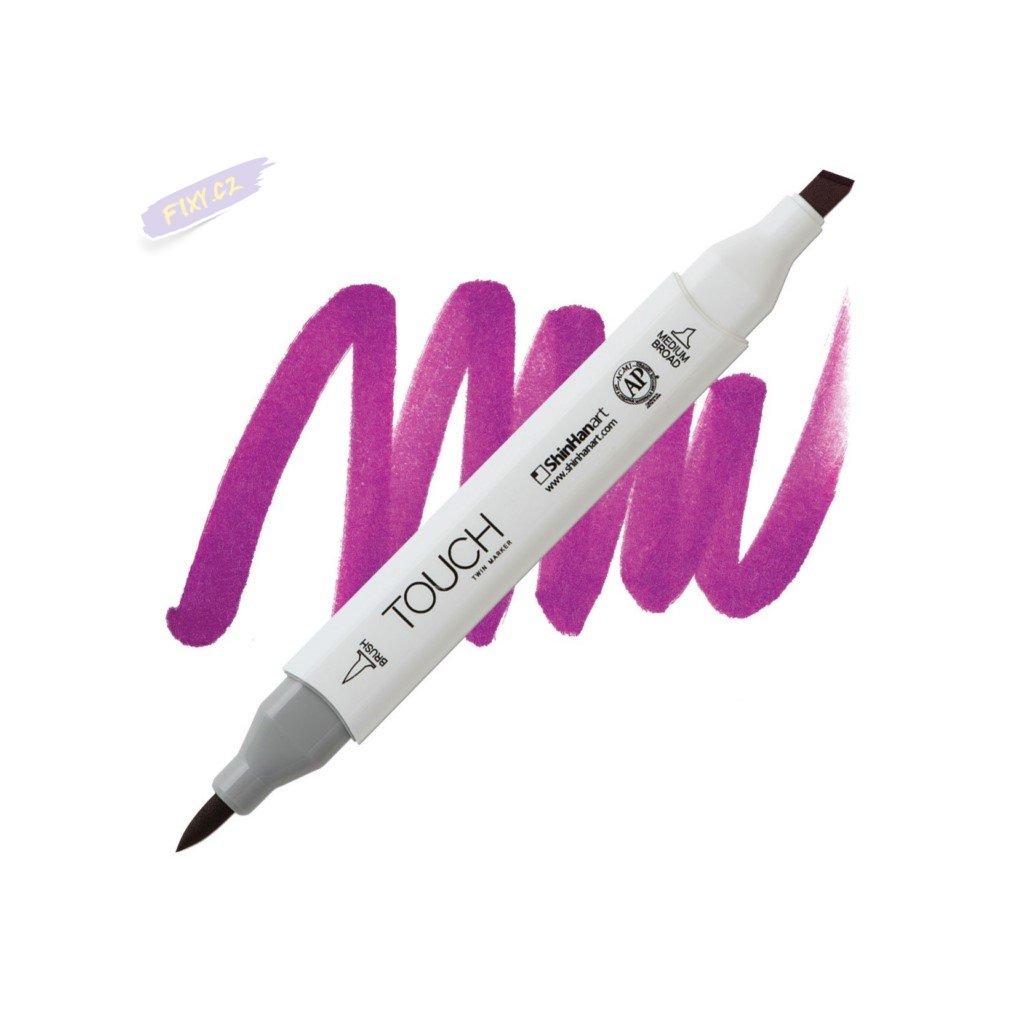 2142 2 p85 vivid purple touch twin brush marker