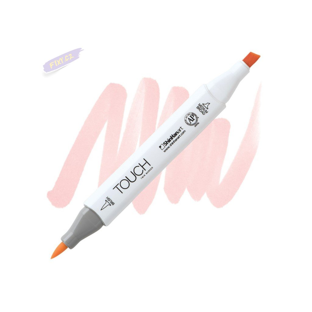 2265 2 r139 flesh touch twin brush marker