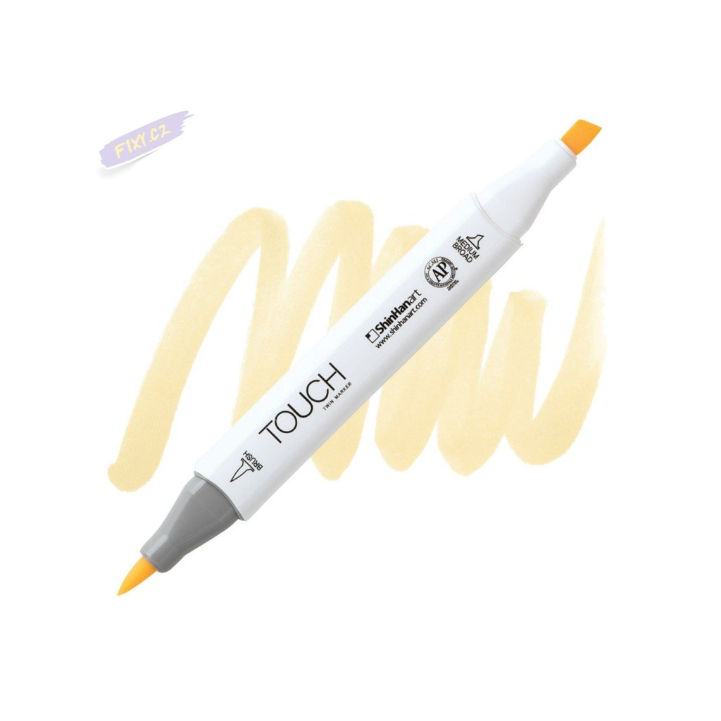 2271 2 y141 buttercup yellow touch twin brush marker