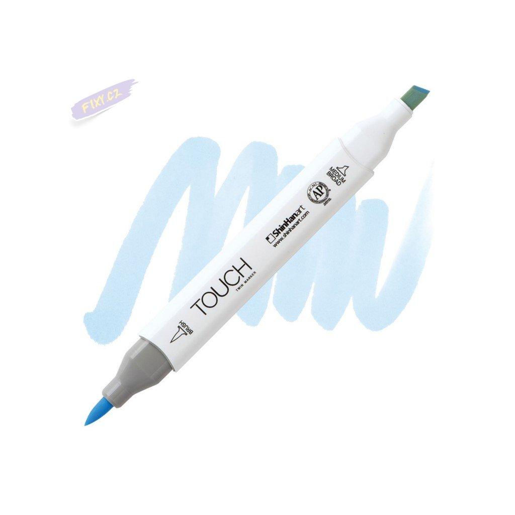 2280 2 pb144 pale baby blue touch twin brush marker