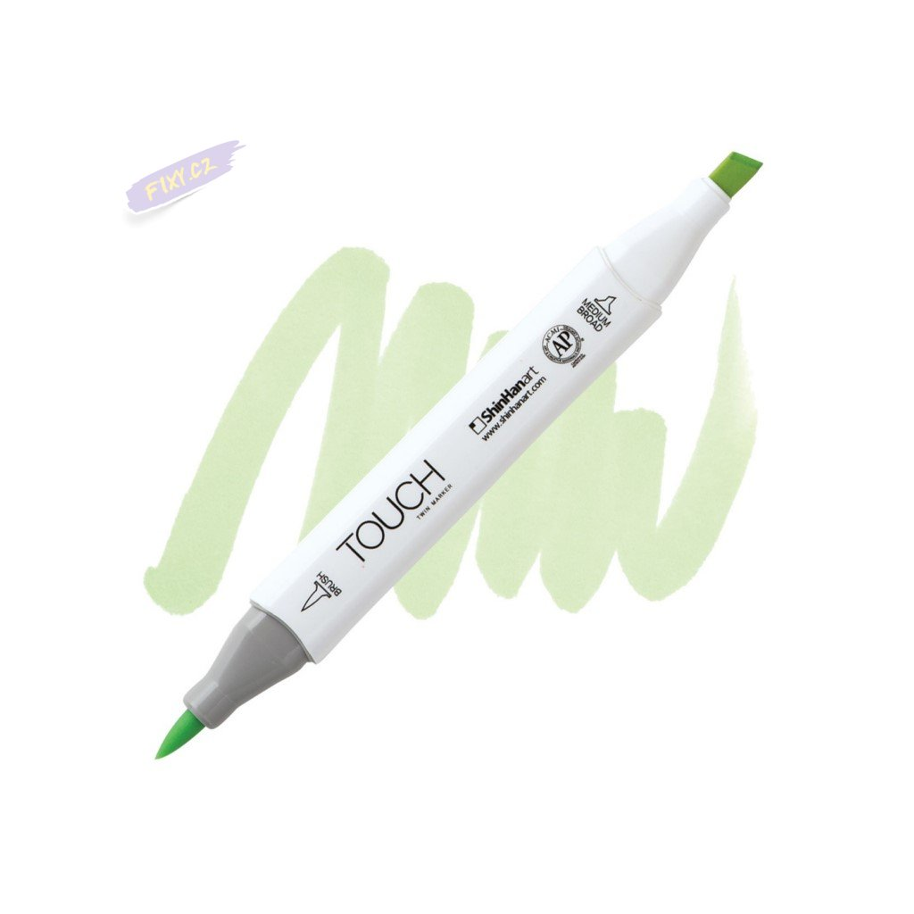 2298 2 gy166 mignonette touch twin brush marker