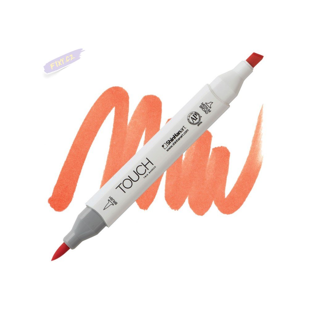 2343 2 yr211 tiger lily touch twin brush marker