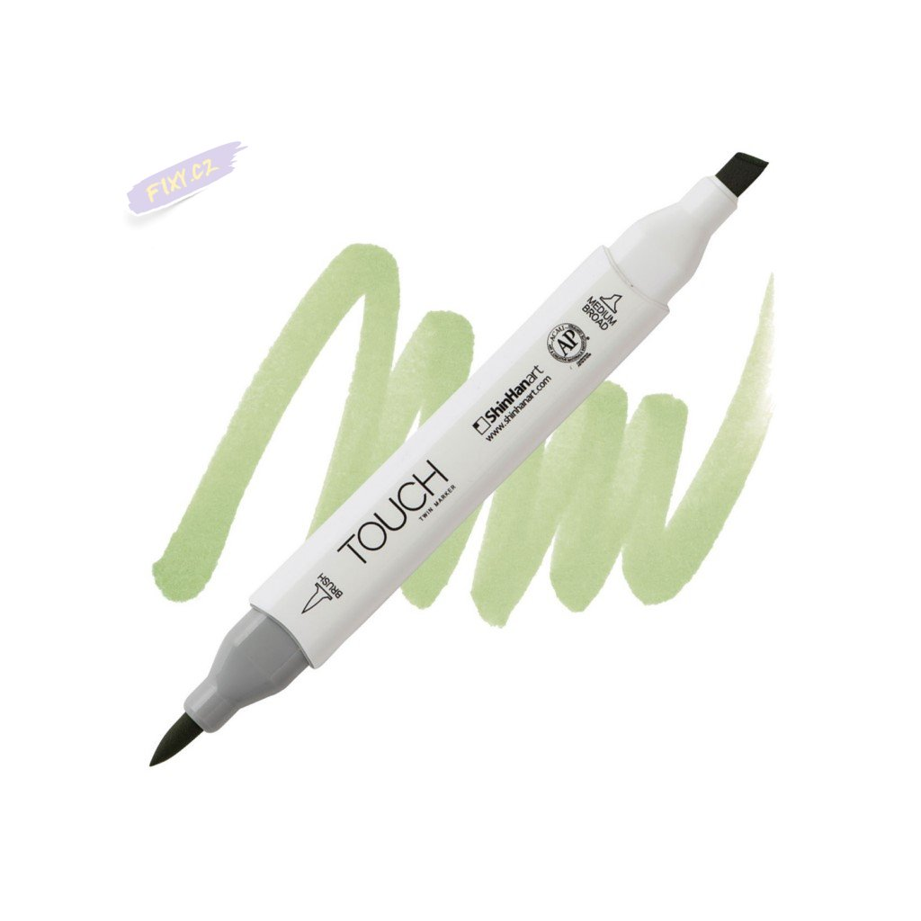 2379 2 gy237 willow green touch twin brush marker