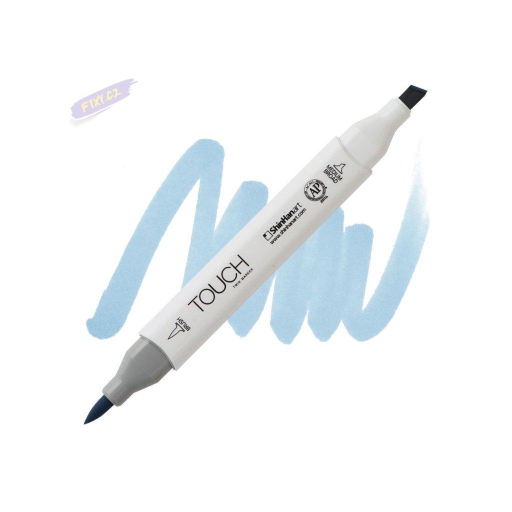 2406 2 pb272 grayish blue pale touch twin brush marker