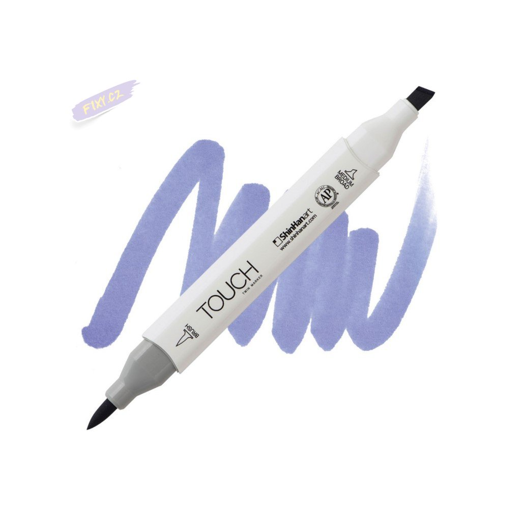 2409 2 pb273 blue berry touch twin brush marker