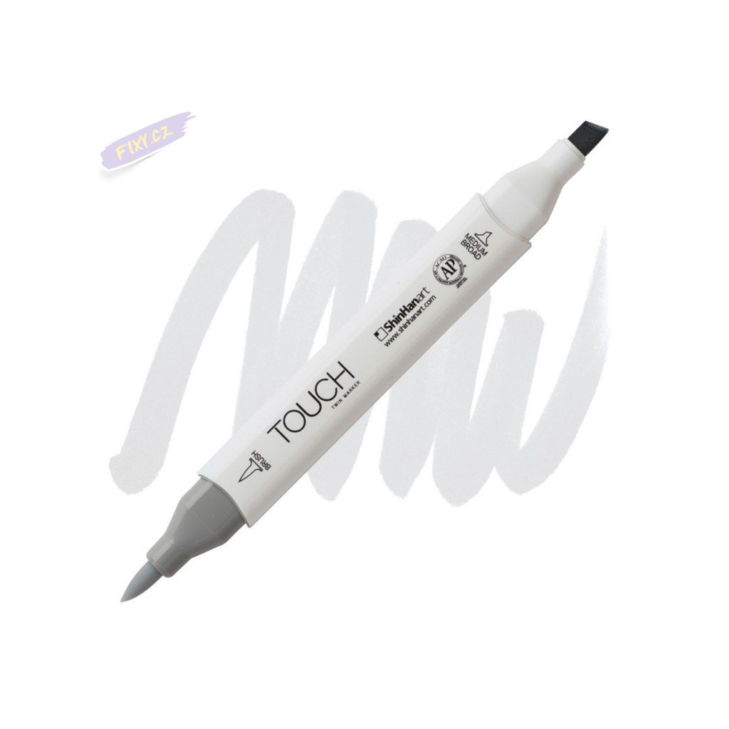 2463 2 cg0 5 cool grey touch twin brush marker