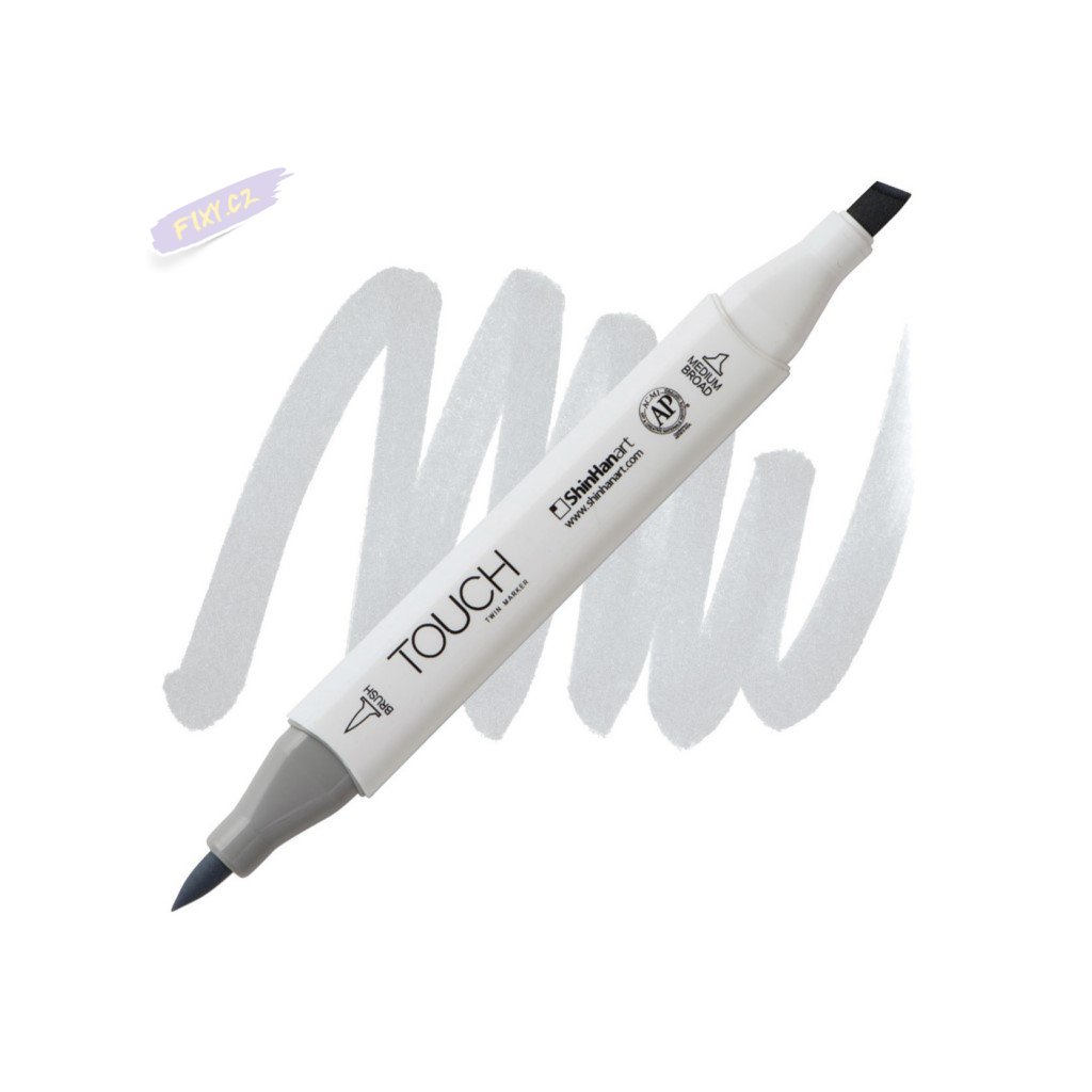 2466 2 cg1 cool grey touch twin brush marker