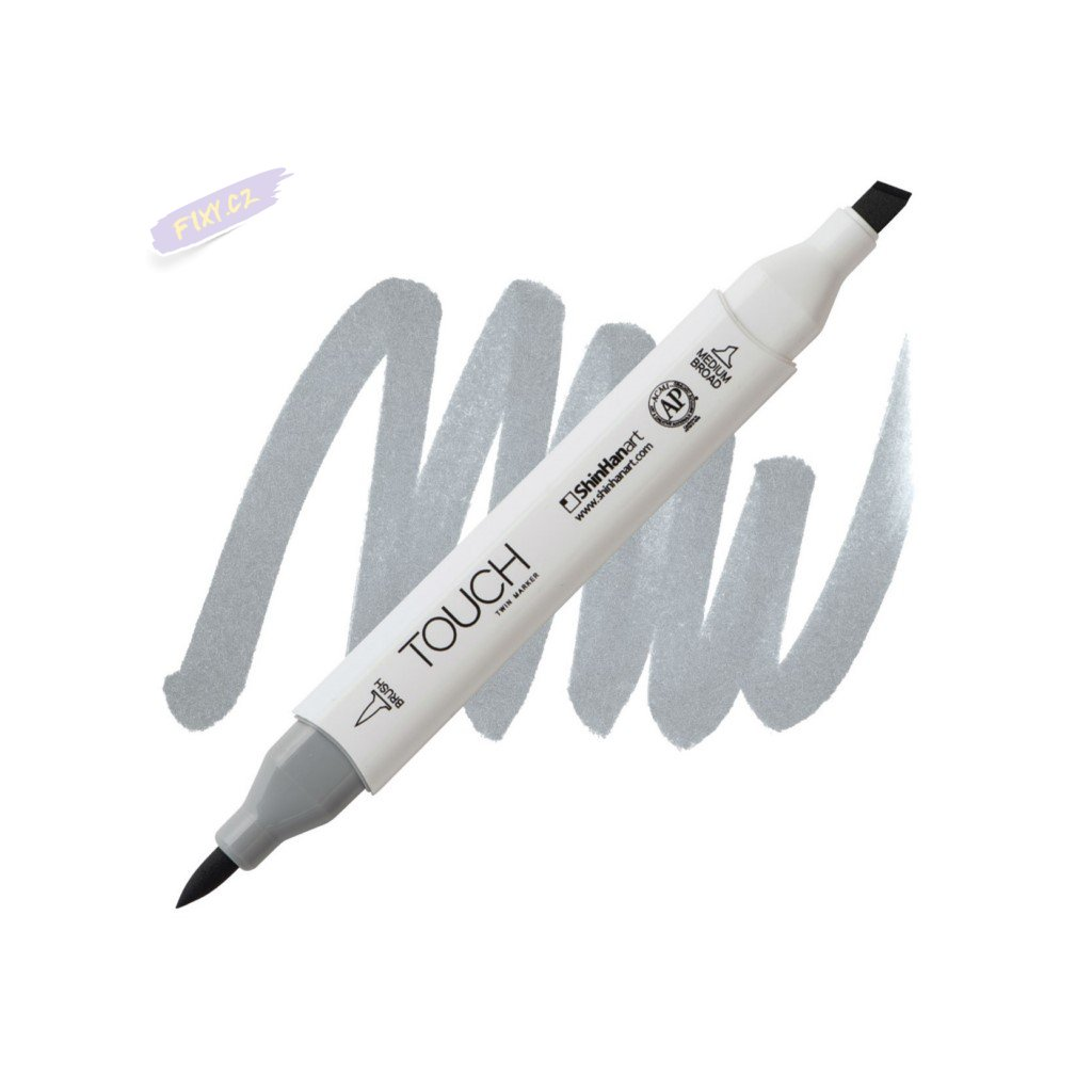 2475 2 cg4 cool grey touch twin brush marker