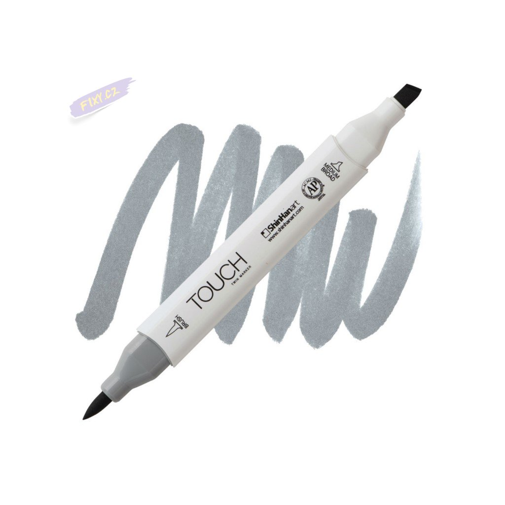 2478 2 cg5 cool grey touch twin brush marker