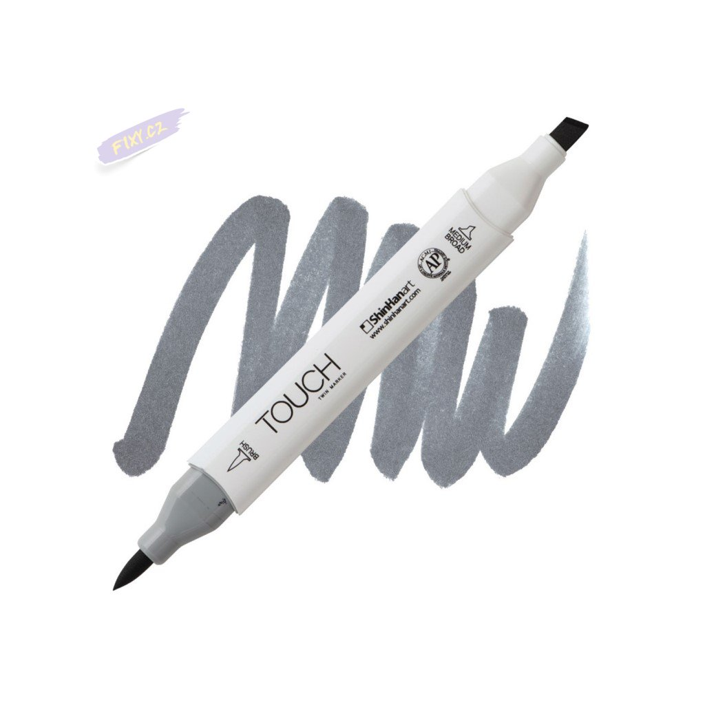 2481 2 cg6 cool grey touch twin brush marker