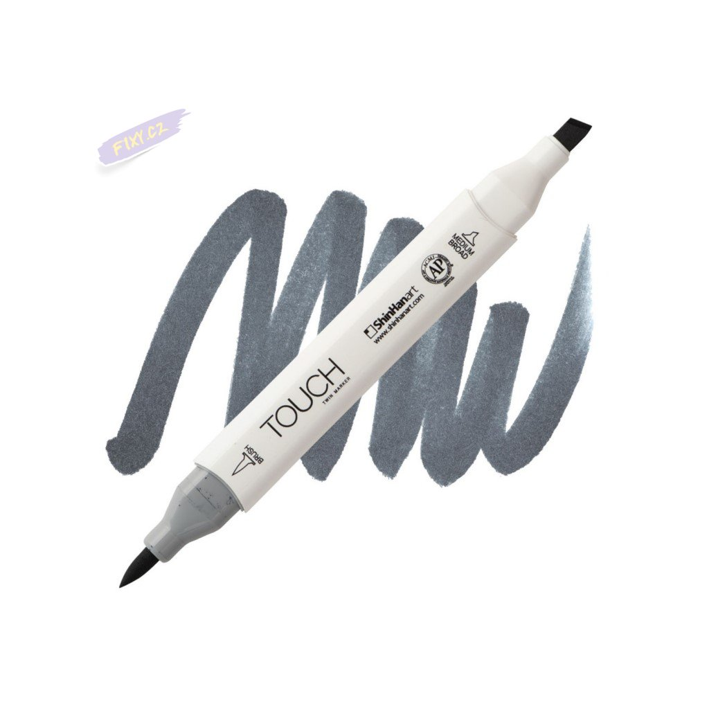 2484 2 cg7 cool grey touch twin brush marker