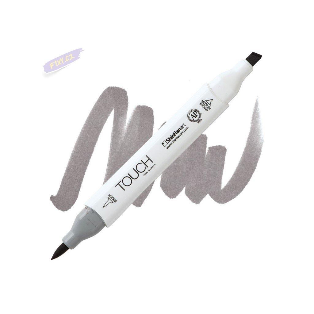 2508 2 wg5 warm grey touch twin brush marker