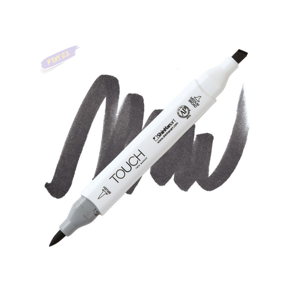 2520 2 wg9 warm grey touch twin brush marker