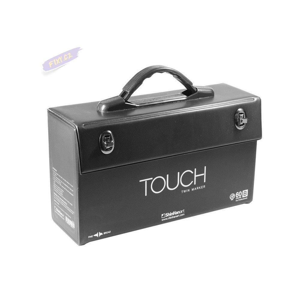2829 1 kufr touch prazdny na 60ks cerny