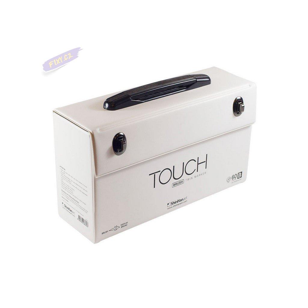 2832 1 kufr touch prazdny na 60ks bily