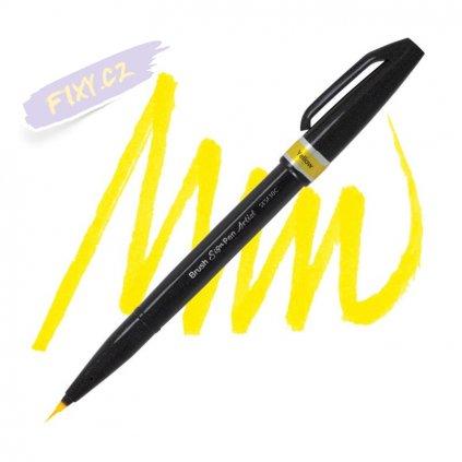 1038 5 pentel touch brush sign pen artist zluty