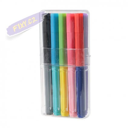 11325 3 fixy muji oboustranne 10ks 20 barev